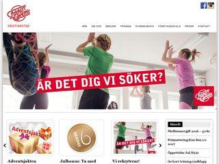 Earlier screenshot of kristianstad.friskissvettis.se