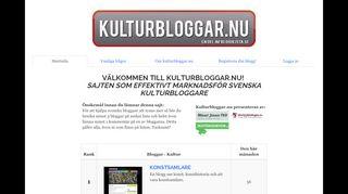 kulturbloggar.nu