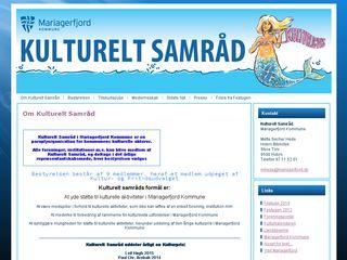 Earlier screenshot of kulturligvis.dk