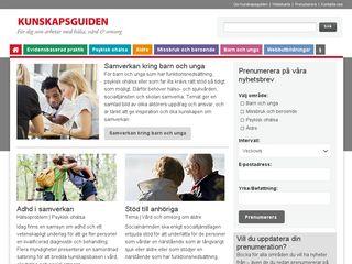 kunskapsguiden.se