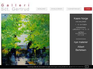 Earlier screenshot of kunstgalleri-kunstudstilling.dk