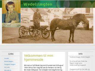 Earlier screenshot of l-wedel.dk