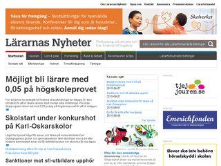 lararnasnyheter.se