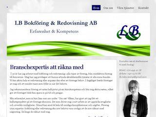 Earlier screenshot of lbredovisning.se