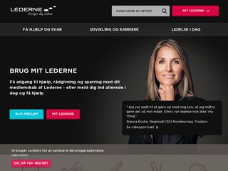 Preview of lederne.dk