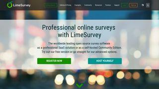 limesurvey.org