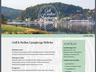 ljungbergsstiftelsen.se