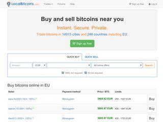 Cum functieaza LocalBitcoin site?