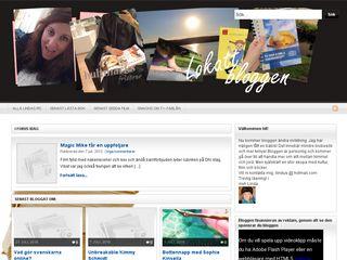 Earlier screenshot of lokatt.nu
