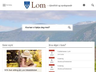lom.kommune.no