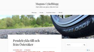 magnuscykelblogg.se