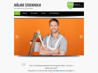 Earlier screenshot of malarestockholm.nu