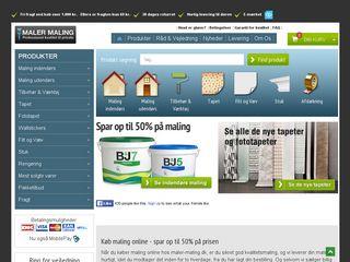Earlier screenshot of 100aaret.dk