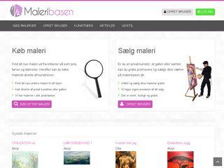 maleribasen.dk