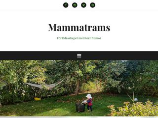 Earlier screenshot of mammatrams.se