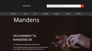 mandens.dk