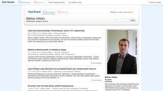 matiashilden.puheenvuoro.uusisuomi.fi
