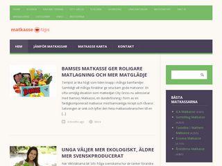 Earlier screenshot of matkasse.tips