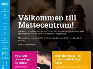 mattecentrum.se