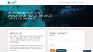 medlem.influencersofsweden.se