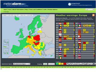 Meteoalarm Eu Domainstats Com