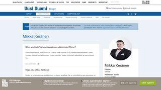 miikkakeranen.puheenvuoro.uusisuomi.fi