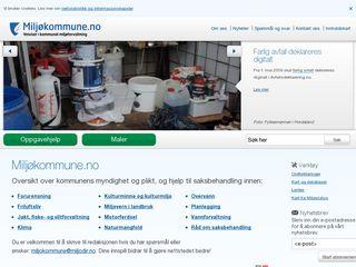 Preview of miljokommune.no
