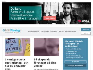 Preview of mittforetag.com