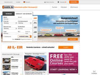 Preview of mobile.de