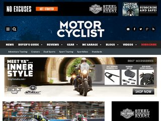 Preview of motorcyclistonline.com