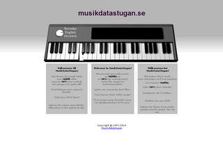 musikdatastugan.se