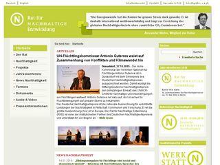 Preview of nachhaltigkeitsrat.de