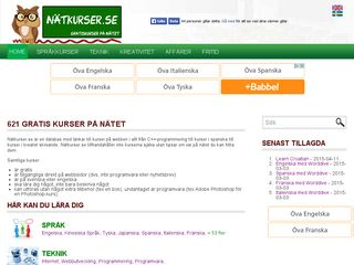 natkurser.se