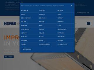 Preview of nefab.com