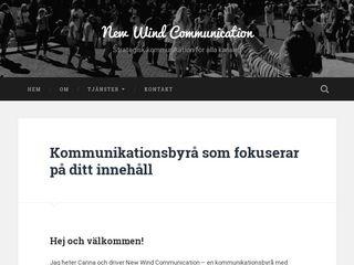 newwindcommunication.se