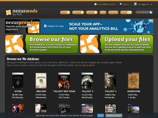 nexusmods com | Domainstats com