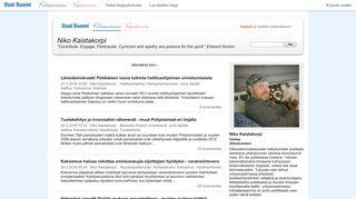 nikokaistakorpi.puheenvuoro.uusisuomi.fi