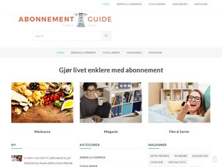 Earlier screenshot of no.abonnement.guide