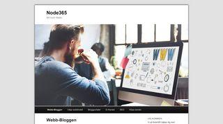 Earlier screenshot of node365.se