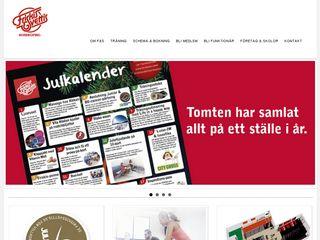 Earlier screenshot of nrk.friskissvettis.se