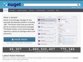 nuget org   Domainstats com