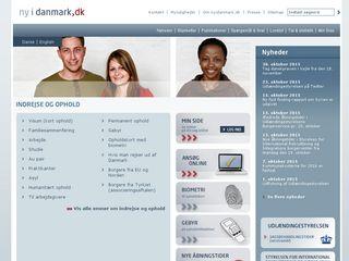 Earlier screenshot of nyidanmark.dk