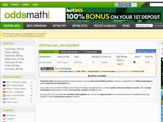 oddsmath com | Domainstats com