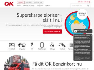 Preview of ok.dk