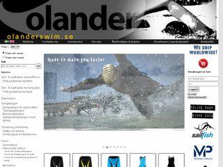 Preview of olanderswim.se