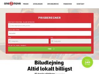one2movebiludlejning.dk