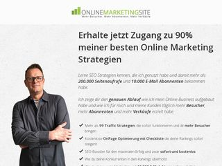 Earlier screenshot of online-marketing-site.de