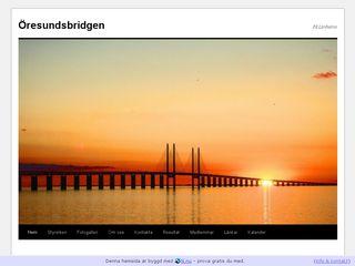 oresundsbridgen.n.nu