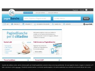 reputable site 5b9e5 e2094 paginebianche.it | Domainstats.com