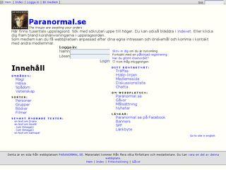 paranormal.se